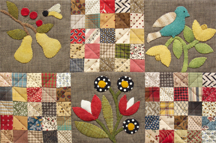 Awesome Cottage Garden Quilt Pattern By Norma Whaley