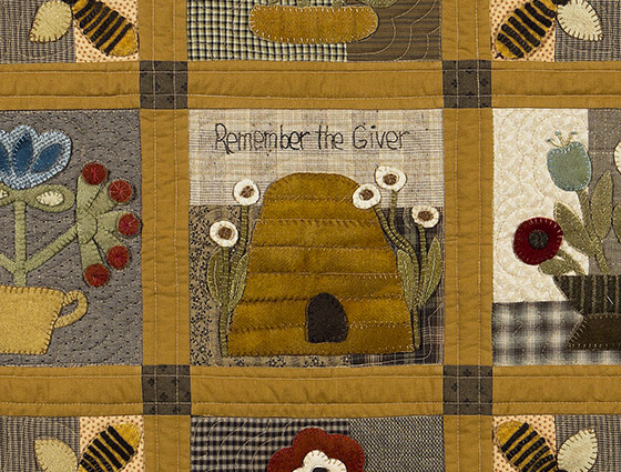 Remember The Giver Timeless Traditions Quilts By Norma