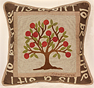 Shaker Wisdom Applique Pillow
