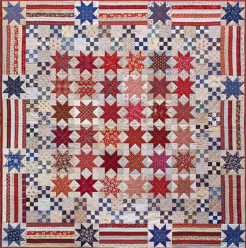 Yes We Can America quilt project | Timeless Traditions Quilts by ... : american traditions quilt - Adamdwight.com
